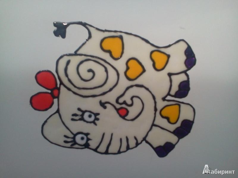Иллюстрация 1 из 18 для Клей для витража 20 граммов 9 цветов 08063 (WP-SE-9) | Лабиринт - игрушки. Источник: Amelis