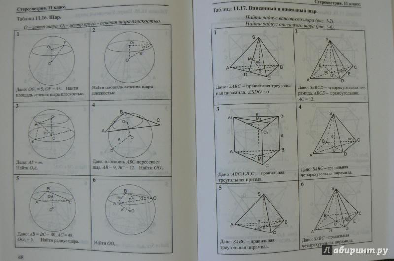 Решение задач на готовых чертежах 11 класс геометрические характеристики поперечного сечения задачи с решениями