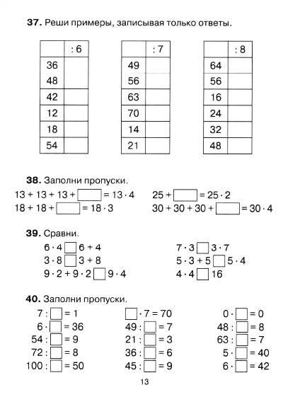 Решение задач 3 класса математика виноградова методы решения задачи о распределении ресурсов