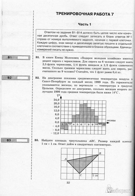 Иллюстрация 1 из 3 для ЕГЭ 2013 Математика. Типовые тестовые задания. 30 вариантов типовых тестовых заданий и 800 части С - Ященко, Семенов, Панферов | Лабиринт - книги. Источник: mcmurphy39