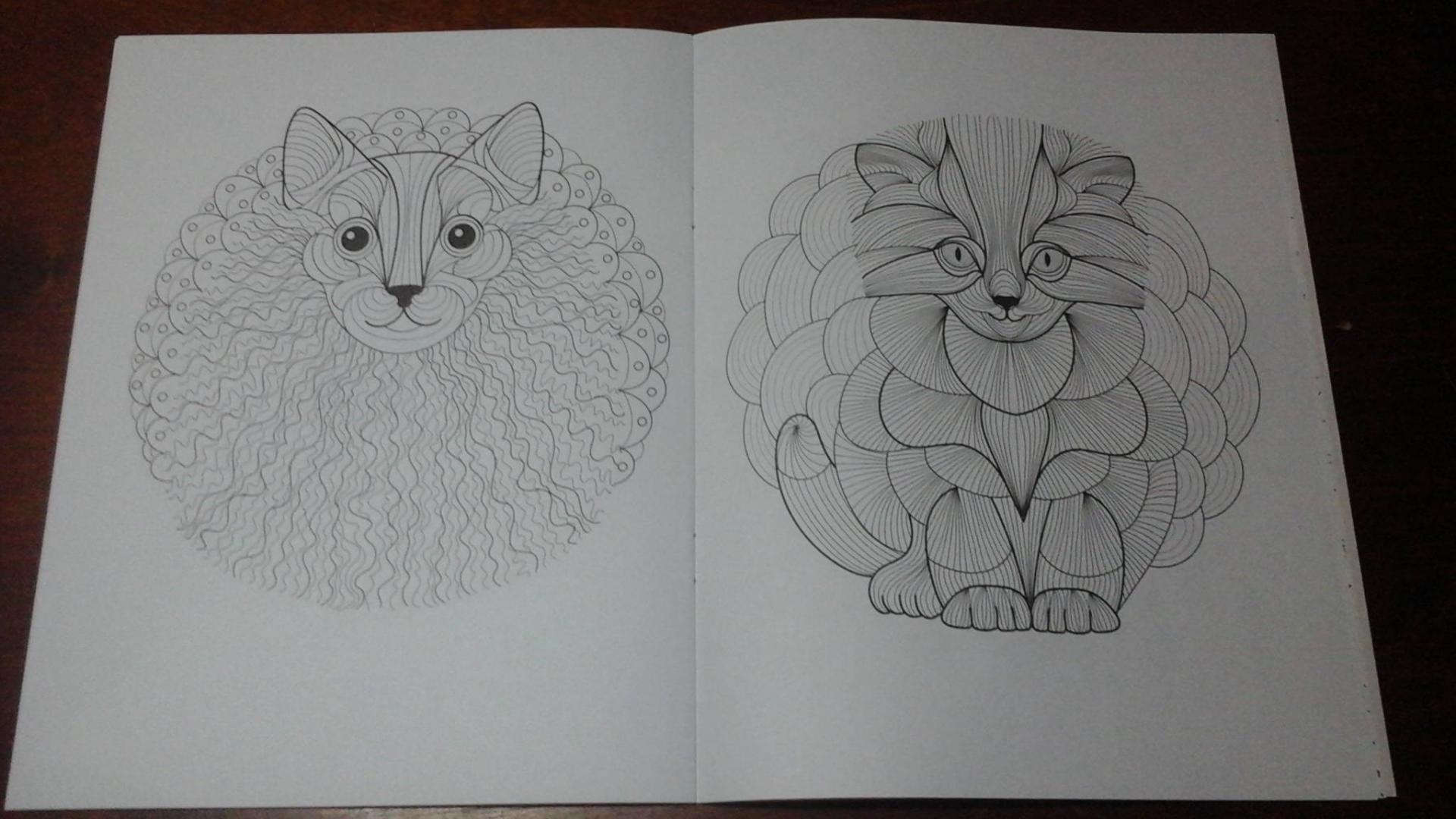 Иллюстрация 9 из 16 для Cats4. Творческая раскраска ...