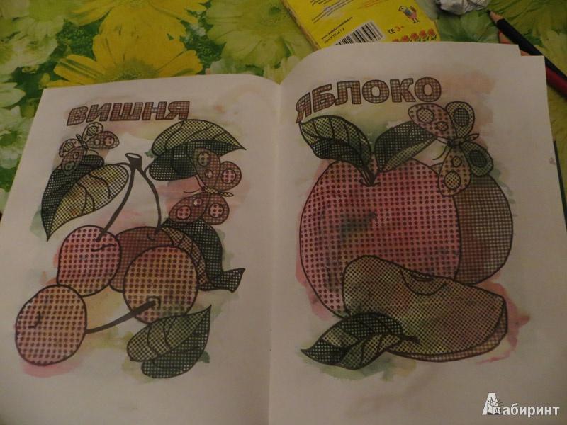 Иллюстрация 6 из 6 для Фруктовый сад. Раскрась водой | Лабиринт - книги. Источник: Ko-ren