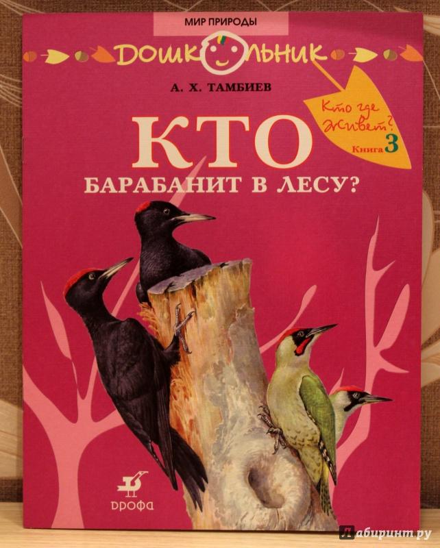 Иллюстрация 9 из 25 для Кто барабанит в лесу? Книга для чтения детям - Александр Тамбиев   Лабиринт - книги. Источник: E.B.