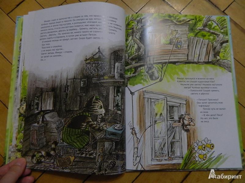 Иллюстрация 35 из 57 для Переполох в огороде - Свен Нурдквист | Лабиринт - книги. Источник: Мама Ольга