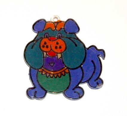 Иллюстрация 4 из 4 для Витраж малый: Бульдог | Лабиринт - игрушки. Источник: OOlga