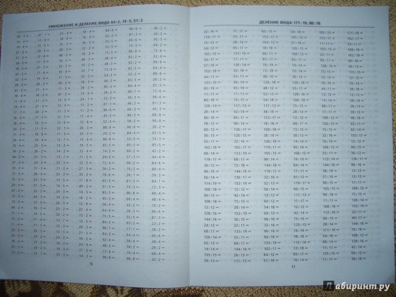 Иллюстрация 5 из 22 для Тренировочные примеры по математике. 3-4 класс. Внетабличное умножение и деление. ФГОС - Марта Кузнецова | Лабиринт - книги. Источник: BlackStar