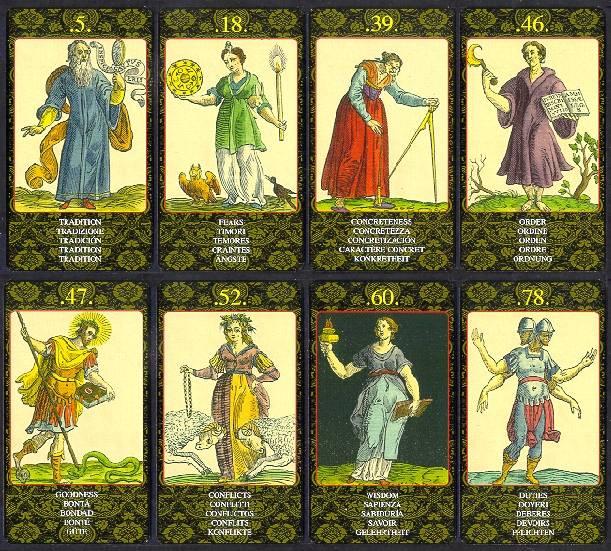 Иллюстрация 2 из 2 для Таро Оракул Нострадамуса (руководство+карты) - Иса Донелли | Лабиринт - книги. Источник: diave