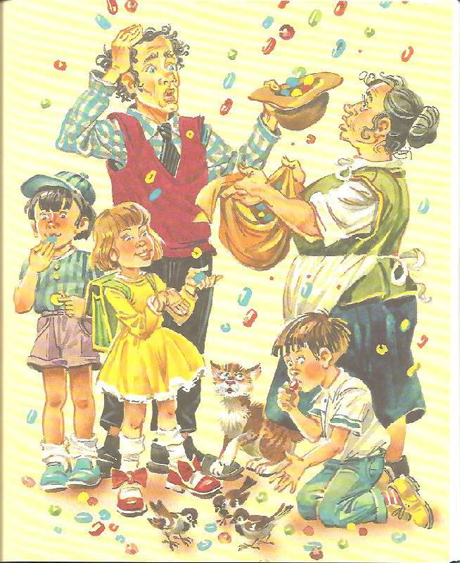 Картинки из сказки джанни родари