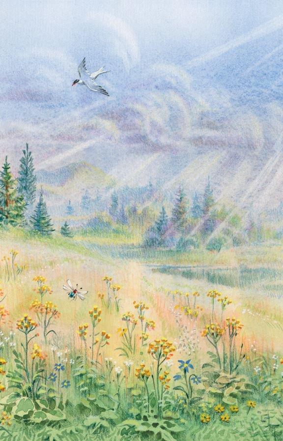 иллюстрации к поэзии фета данной странице найдете