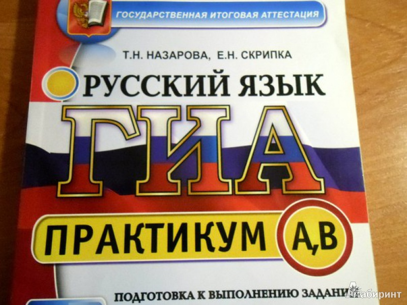 Иллюстрация 1 из 7 для Русский язык. Выполнение заданий части A, B. ГИА 2013 - Назарова, Скрипка | Лабиринт - книги. Источник: Демидов  Даниил