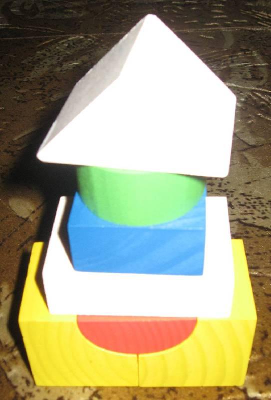 Иллюстрация 27 из 27 для Конструктор цветной (14 деталей) (6678-14) | Лабиринт - игрушки. Источник: Зеленоглазая