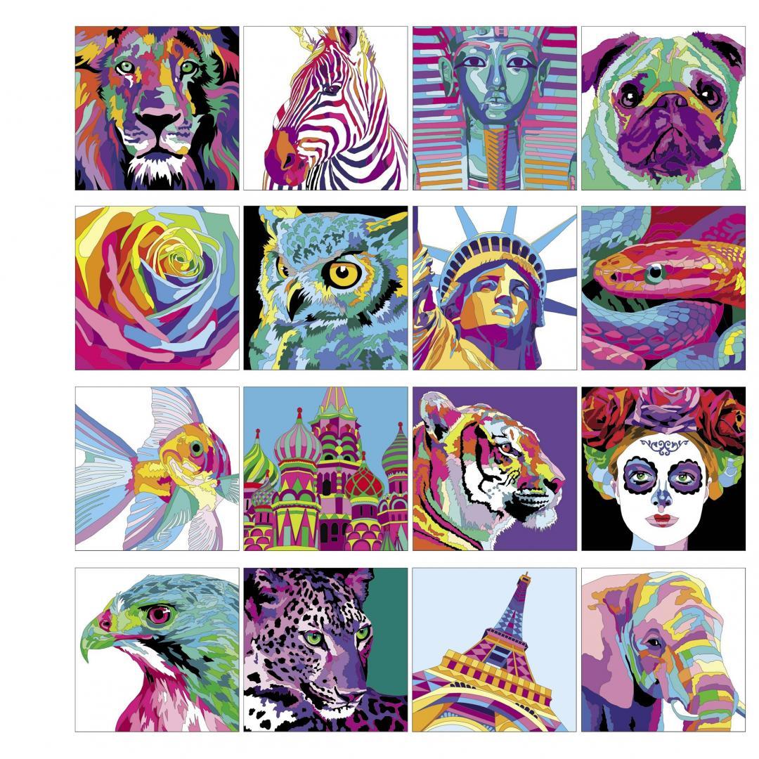 Иллюстрация 3 из 9 для Colourtronic. Раскрась по номерам ...