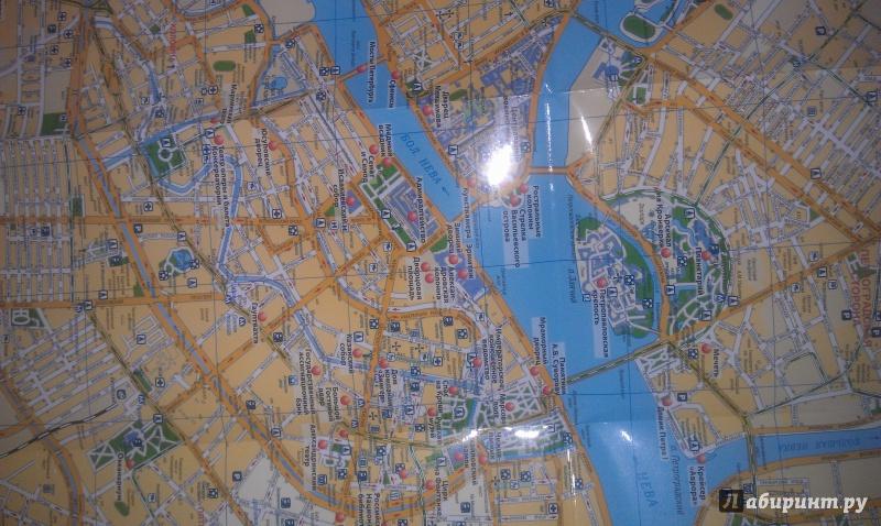 Иллюстрация 4 из 7 для Санкт-Петербург. Карта | Лабиринт - книги. Источник: Гончарова  Мария Владимировна