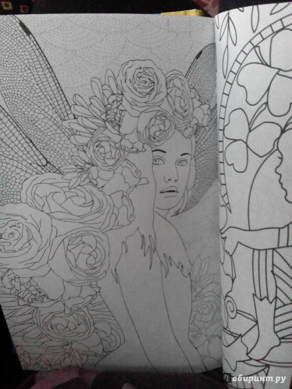 Иллюстрация 37 из 60 для Лесные феи. Мини-раскраска ...