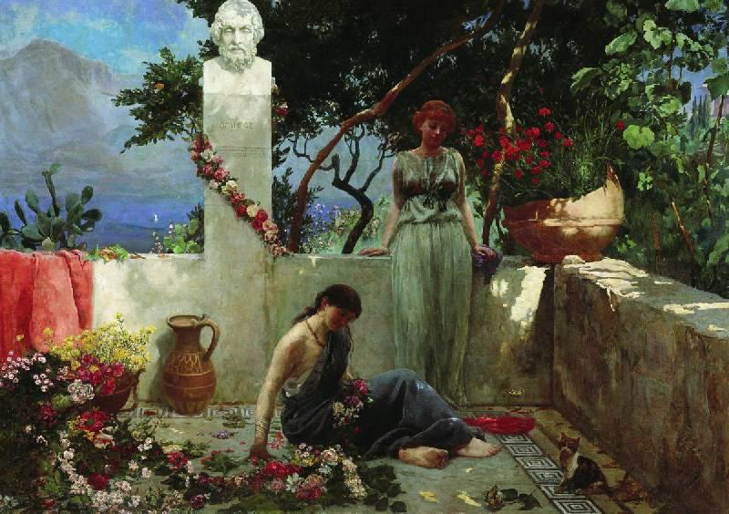 Иллюстрация 2 из 2 для Роза с могилы Гомера - Ханс Андерсен | Лабиринт - книги. Источник: Delena