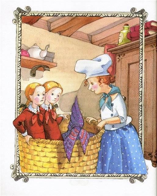 Картинки к сказки королевство кривых зеркал