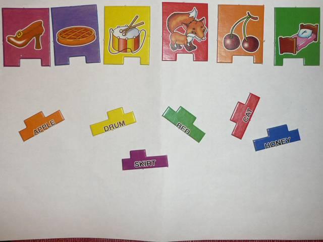 Иллюстрация 3 из 4 для Мои первые английские слова №1 - С.Х. Гомза   Лабиринт - игрушки. Источник: Новичкова Елена Юрьевна