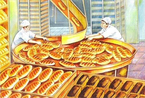 Иллюстрация 9 из 12 для Откуда что берется. Хлеб.  Наглядно-дидактическое пособие - Э. Емельянова | Лабиринт - книги. Источник: IMA4ka