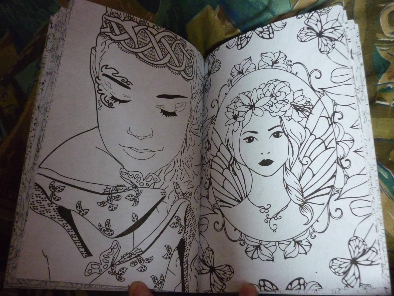 Иллюстрация 58 из 59 для Лесные феи. Мини-раскраска ...