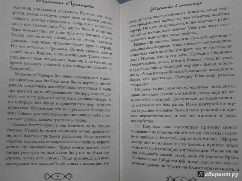Иллюстрация 4 из 6 для Убийства в шоколаде - Татьяна Луганцева | Лабиринт - книги. Источник: )  Катюша