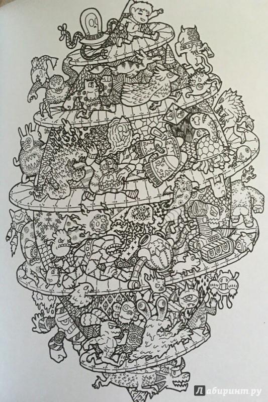 Иллюстрация 16 из 33 для Сборище дудлов. Не самая обычная ...