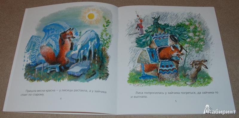 Иллюстрация 13 из 51 для Лиса и заяц - Евгений Чарушин   Лабиринт - книги. Источник: Книжный кот