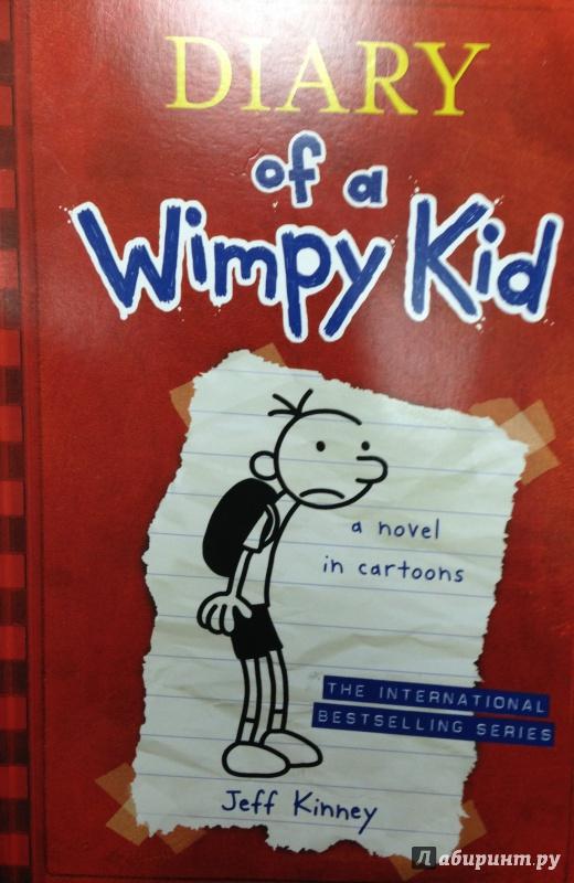 Иллюстрация 2 из 14 для Diary of a Wimpy Kid - Jeff Kinney | Лабиринт - книги. Источник: Tatiana Sheehan