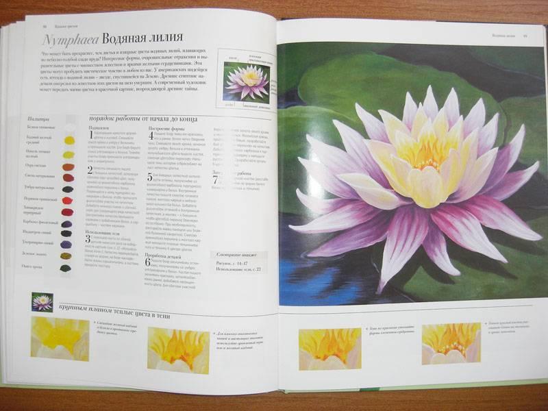 Иллюстрация 18 из 20 для Акриловая живопись. Рисуем цветы - Лекси Санделл | Лабиринт - книги. Источник: Gradara