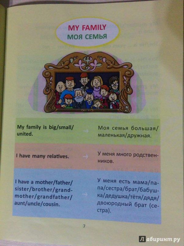 Иллюстрация 9 из 18 для Разговорные шаблоны английского языка. 2-4 классы - Марина Селиванова   Лабиринт - книги. Источник: Добрая Совушка
