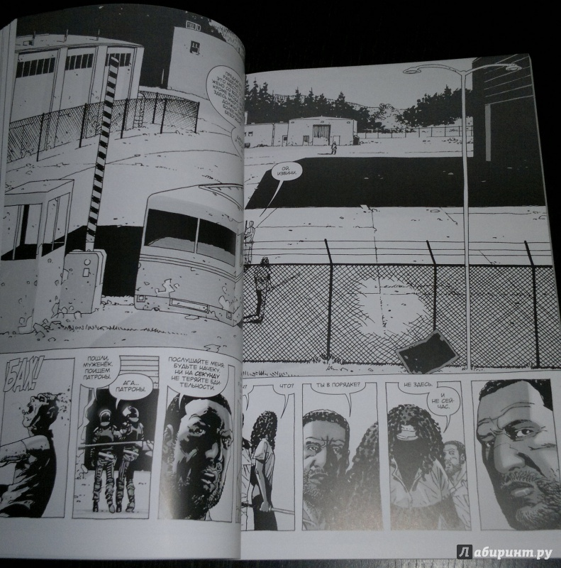 Иллюстрация 5 из 31 для Ходячие Мертвецы. Том 7. Затишье перед... - Роберт Киркман   Лабиринт - книги. Источник: Шаповалов  Алексей