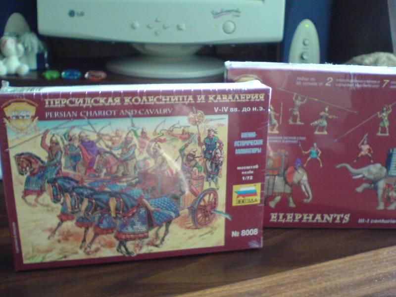Иллюстрация 1 из 14 для Персидская кавалерия и колесница IV-I вв. до н.э. (8008) | Лабиринт - игрушки. Источник: LilyWhite