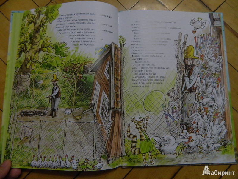 Иллюстрация 29 из 57 для Переполох в огороде - Свен Нурдквист   Лабиринт - книги. Источник: Мама Ольга