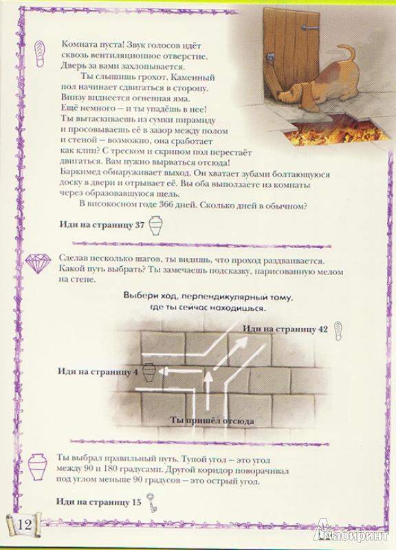 Иллюстрация 12 из 13 для Замок лабиринтов - Дэвид Гловер | Лабиринт - книги. Источник: Ёжик