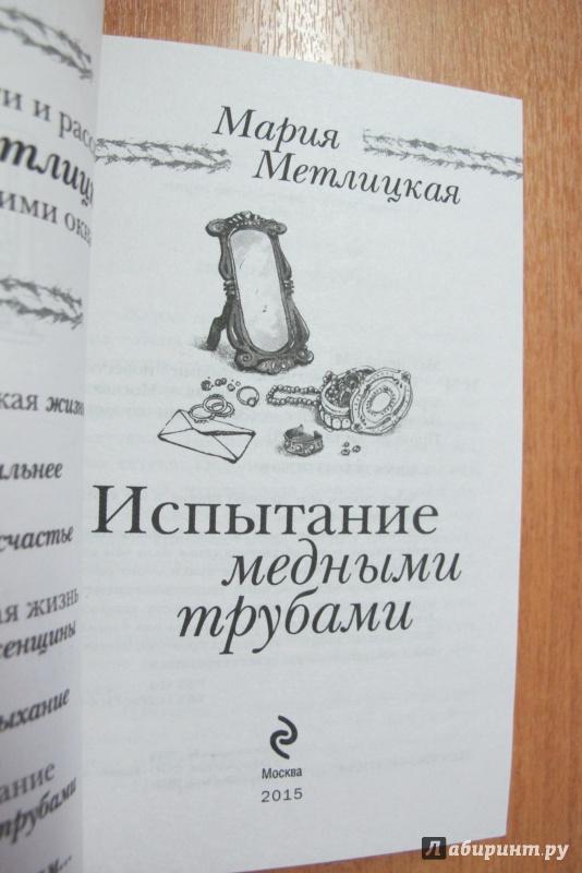 Иллюстрация 10 из 15 для Испытание медными трубами - Мария Метлицкая   Лабиринт - книги. Источник: Hitopadesa