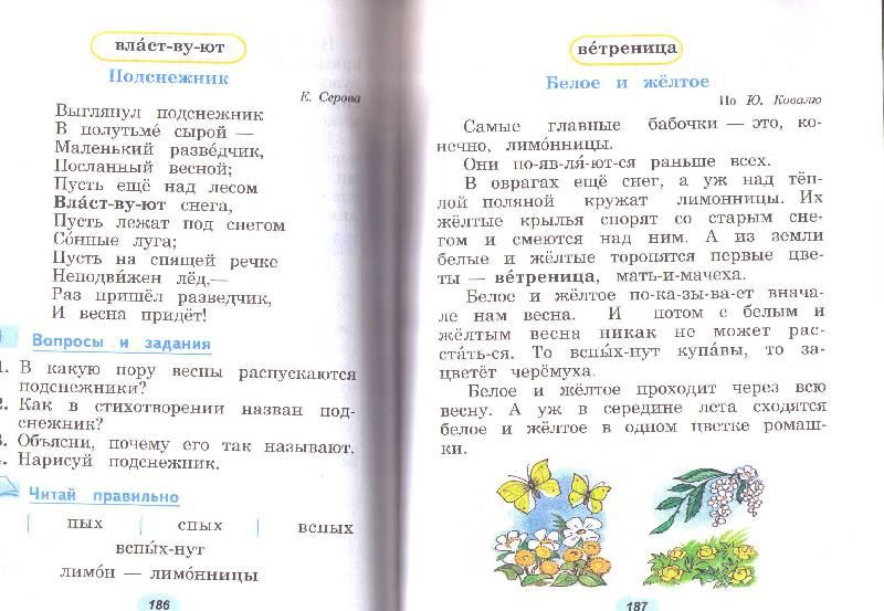 Иллюстрация 5 из 10 для Чтение. 2 класс. Учебник. Адаптированные программы - Светлана Ильина | Лабиринт - книги. Источник: List