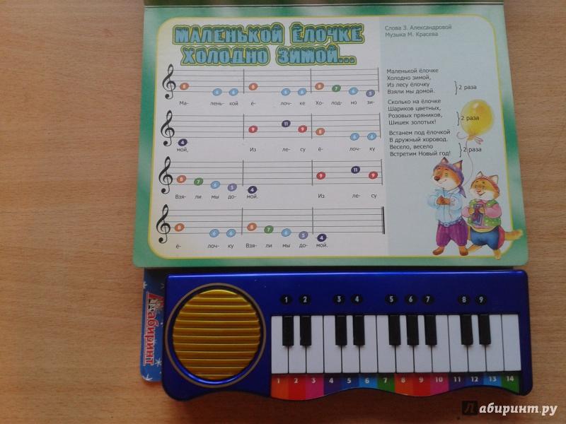 Иллюстрация 18 из 48 для Пианино. Зимние песенки синяя | Лабиринт - книги. Источник: Шопоголик