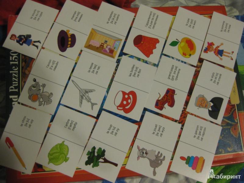 Иллюстрация 1 из 5 для Французское домино (45 карточек) | Лабиринт - книги. Источник: White lady