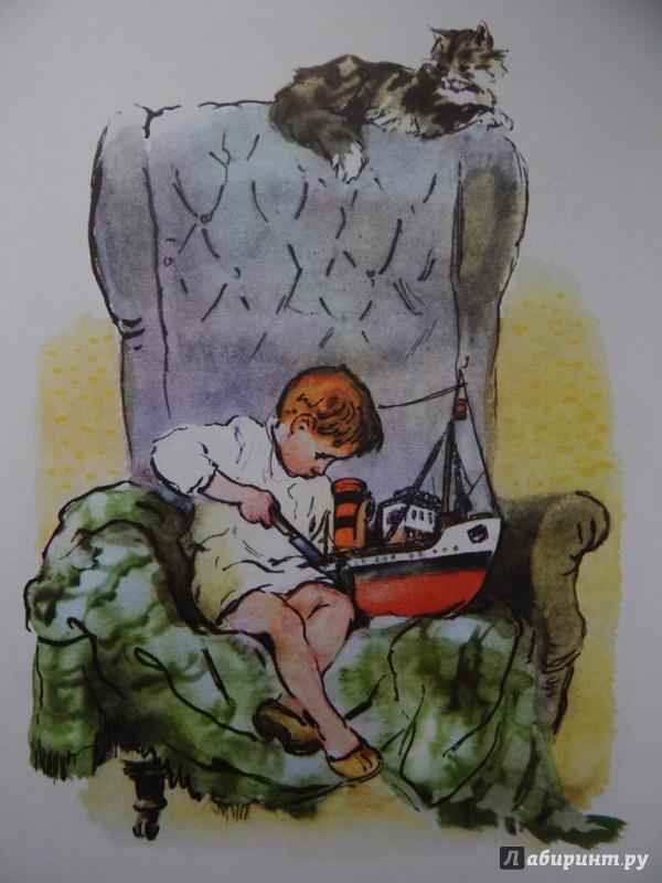 Иллюстрации к сказке как я ловил человечков борис житков