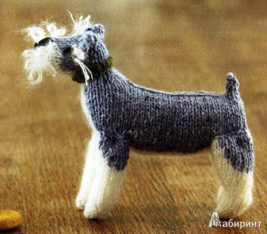 Иллюстрация 14 из 16 для Игрушечные собаки: Вяжем спицами - Мур, Осборн   Лабиринт - книги. Источник: Кузнецова  Татьяна
