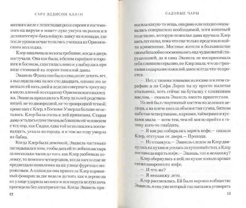 Иллюстрация 4 из 8 для Садовые чары - Сара Аллен   Лабиринт - книги. Источник: КЕС