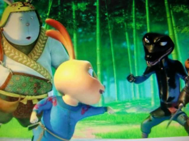 Иллюстрация 1 из 8 для Кунг-фу Кролик (DVD) - Сан Джан | Лабиринт - видео. Источник: Лимпи