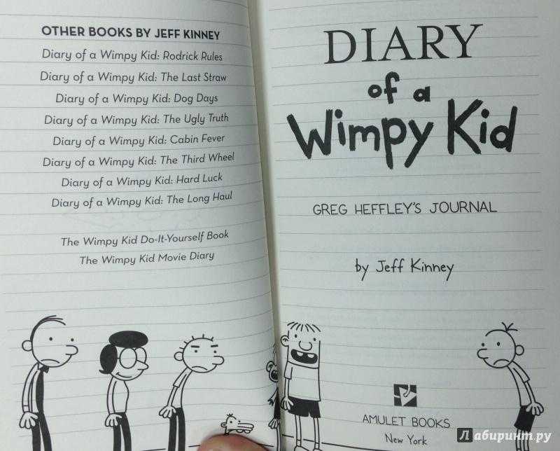 Иллюстрация 4 из 14 для Diary of a Wimpy Kid - Jeff Kinney | Лабиринт - книги. Источник: Tatiana Sheehan