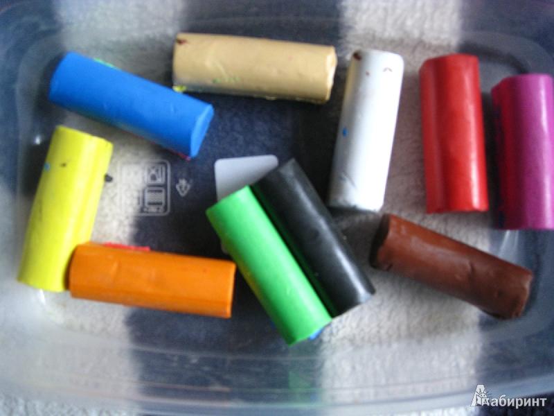 Иллюстрация 1 из 7 для Пластилин 200 грамм 10 цветов (131712) | Лабиринт - игрушки. Источник: зеброчка
