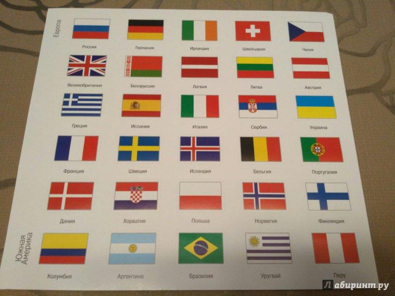Флаги картинки с названиями стран, балериной своими руками