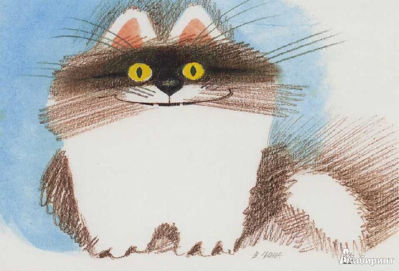 Для мам, открытки коты чижикова