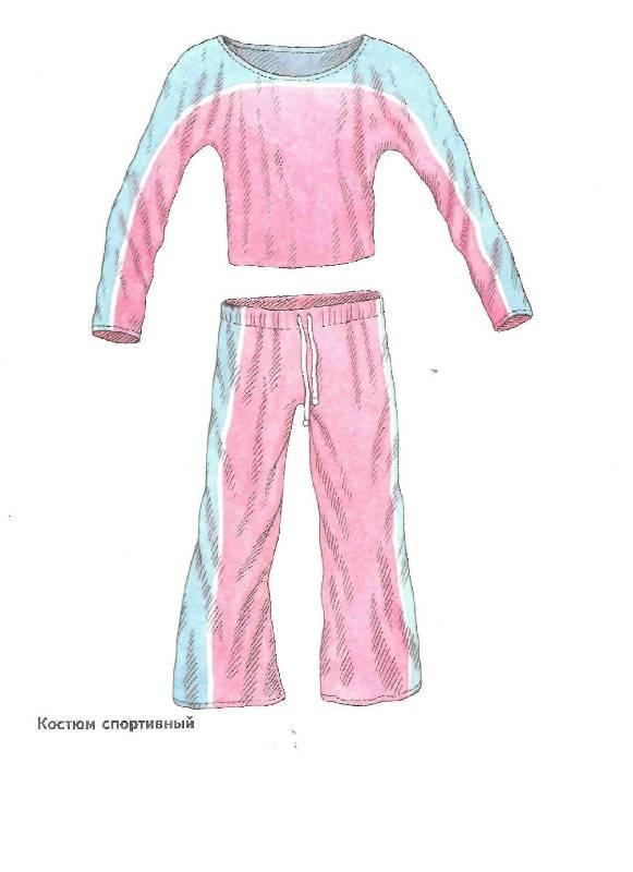 Наглядные пособия картинки одежды