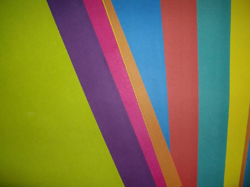 Иллюстрация 1 из 5 для Бумага цветная двусторонняя (10 цветов, 20 листов, А4) (МБЦ 4 20Д/10)   Лабиринт - канцтовы. Источник: Tiger.