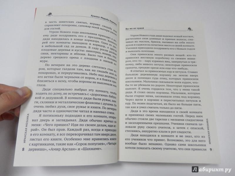 Иллюстрация 5 из 5 для Вы же не чужой - Хушанг Кермани | Лабиринт - книги. Источник: dbyyb