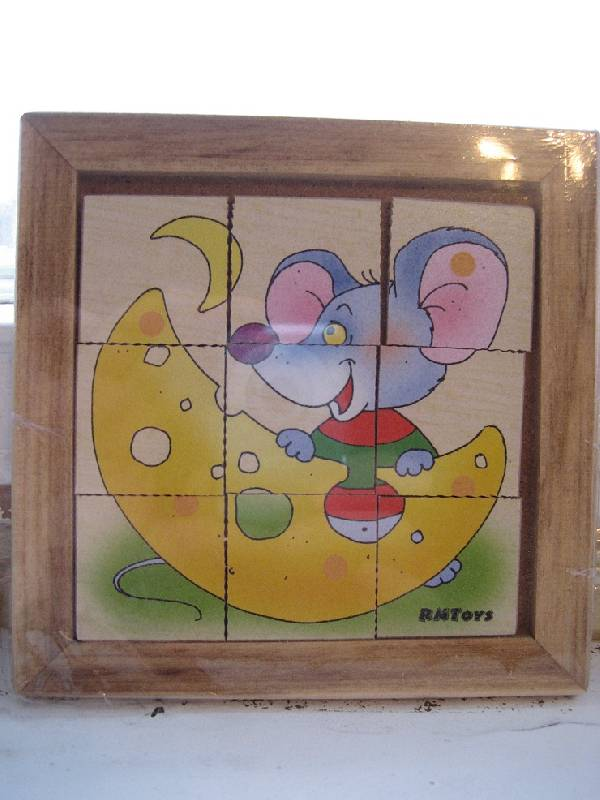 Иллюстрация 1 из 3 для Мышонок-головоломка в деревянной рамке (Д-258) | Лабиринт - игрушки. Источник: Тябут  Мария Александровна