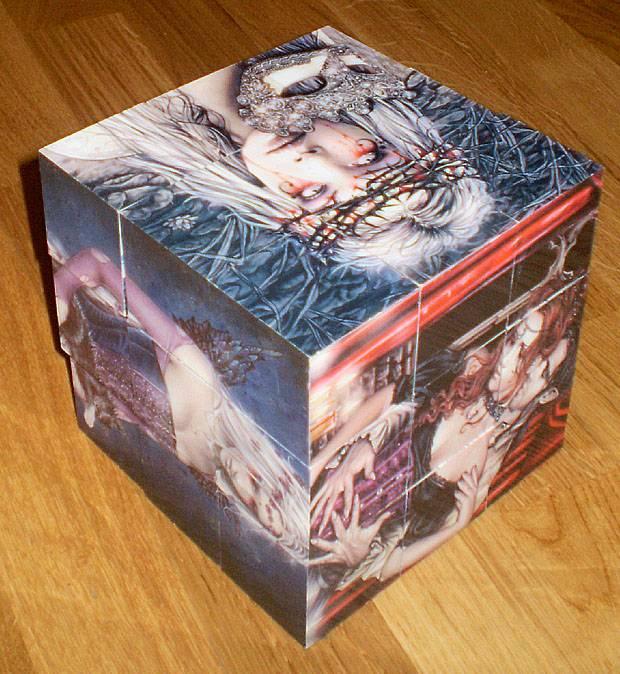 """Иллюстрация 19 из 20 для Магнитные кубики-пазлы """"Готика"""" (27 кубиков, 18 пазлов) (14061)   Лабиринт - игрушки. Источник: sobaka"""